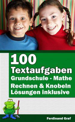 Buchcover - 100 Textaufgaben für die Grundschule