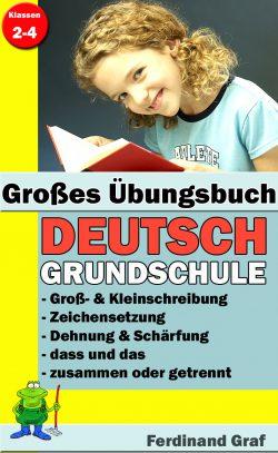 Buchcover - Grosses Übungsbuch Deutsch Grundschule