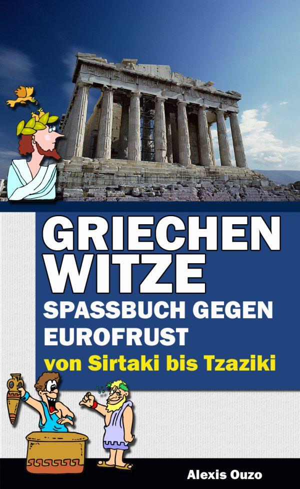 Buchcover - Grichenwitze