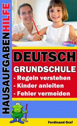 Buchcover - Hausaufgabenhilfe Deutsch Grundschule