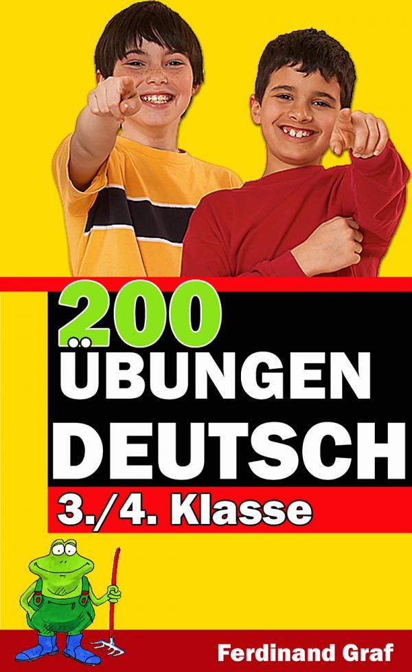 Buchcover - 200 Übungen Deutsch